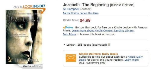 Jezebeth The Novel