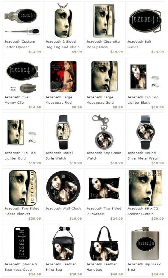 Jezebeth Merchandise