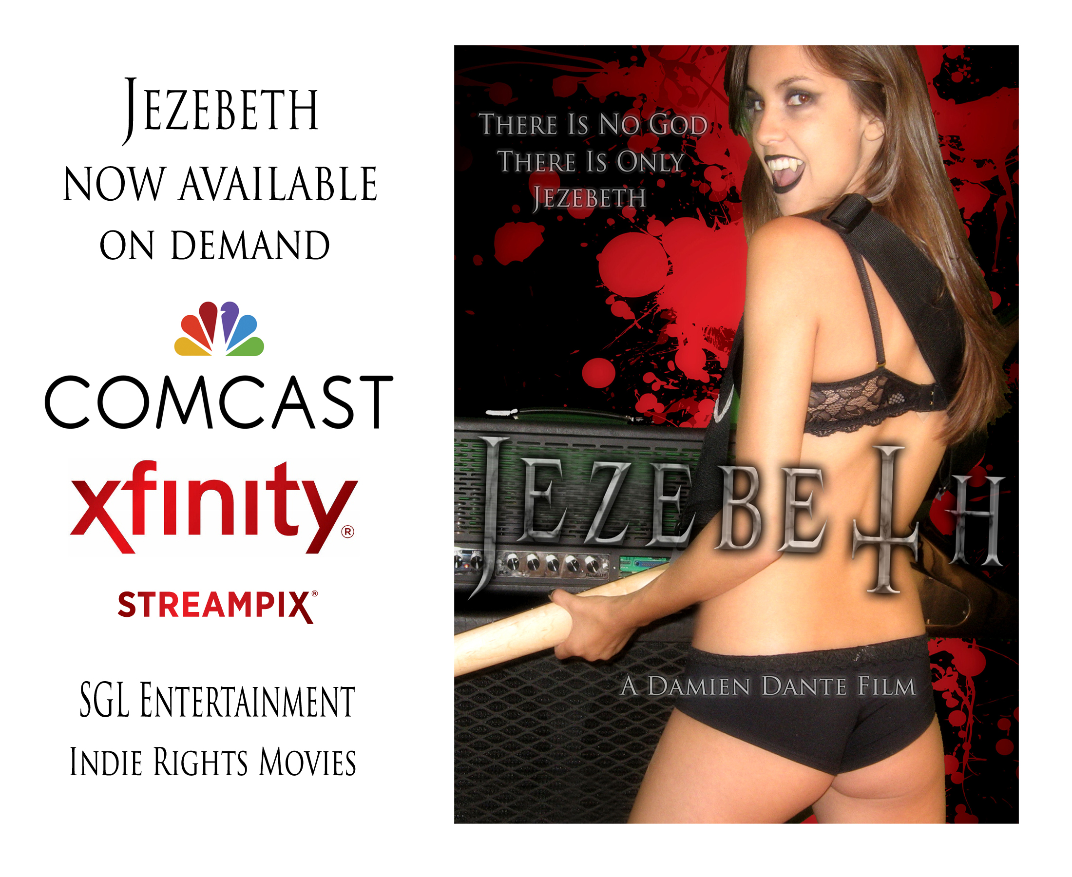 Jezebeth on Comcast Cable TV